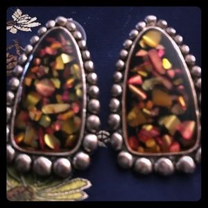Jewelry - Silver earrings from Mexico